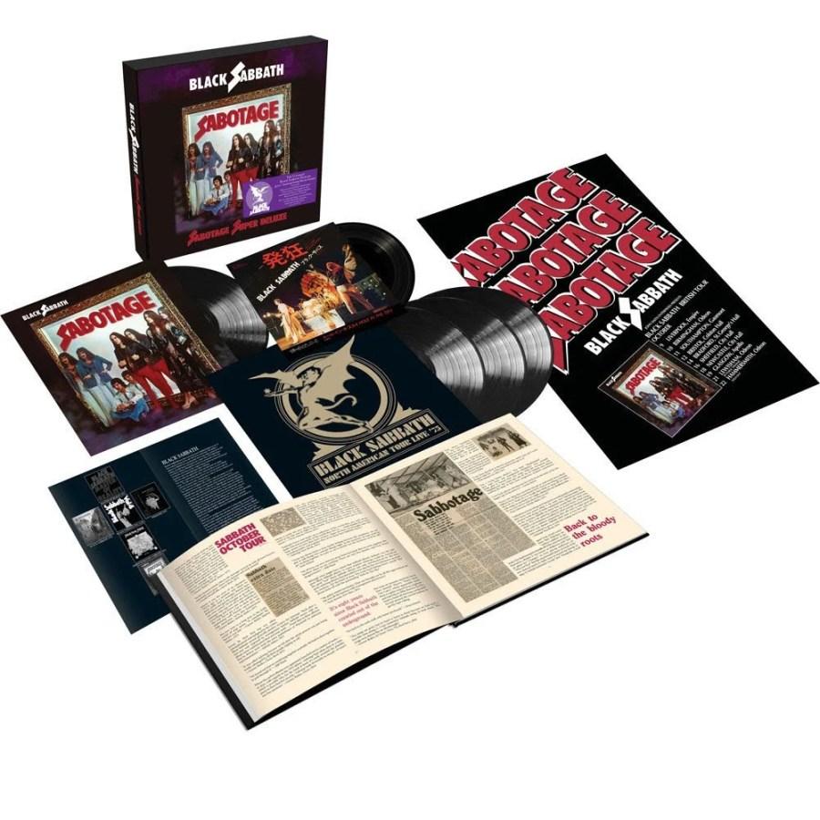 Black Sabbath lança edição de luxo de 'Sabotage'