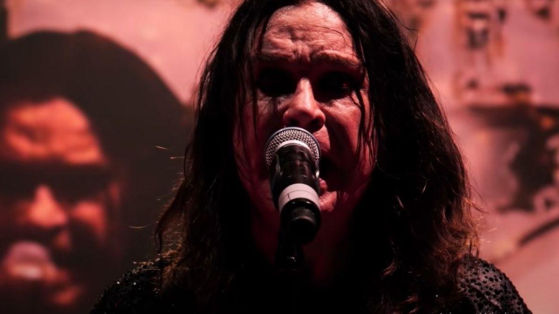 Ozzy Osbourne no último show do Black Sabbath