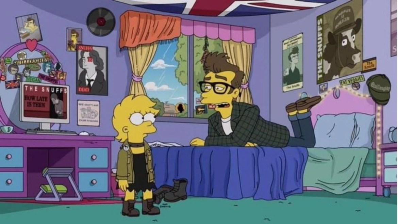 Morrissey no episódio de 'The Simpsons'