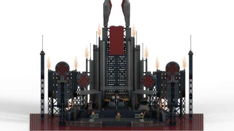 Palco LEGO Rammstein