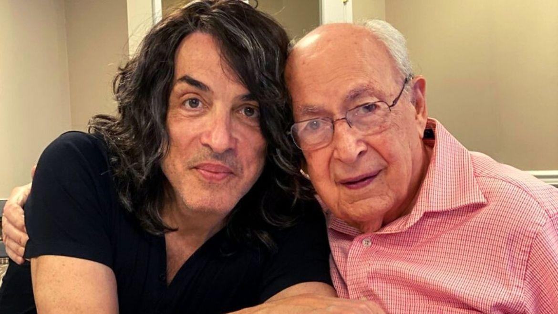 Paul Stanley e o pai, William Eisen