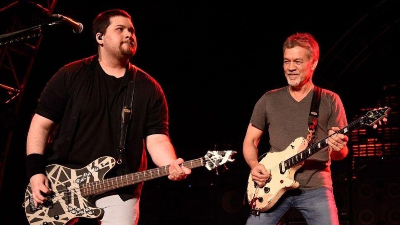 Wolfgand e Eddie Van Halen