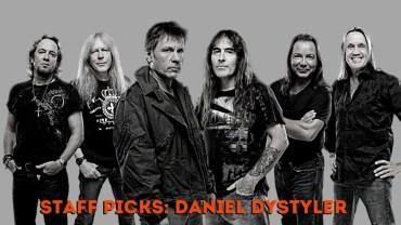 Iron Maiden no Staff Picks do Daniel