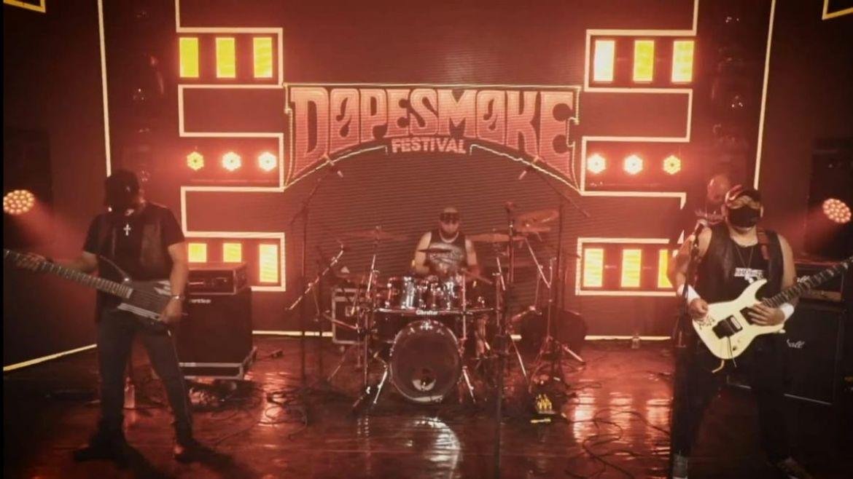 Viscerall no festival Dopesmoke