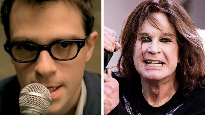 Rivers Cuomo, do Weezer, e Ozzy Osbourne