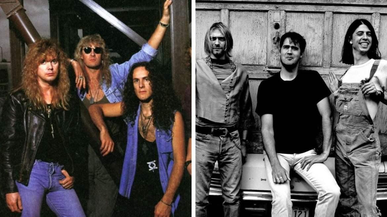 Def Leppard e Nirvana