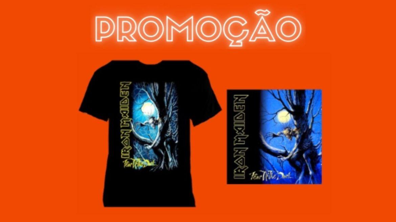 PROMOÇÃO: Valendo um kit 'Fear Of The Dark', do Iron Maiden