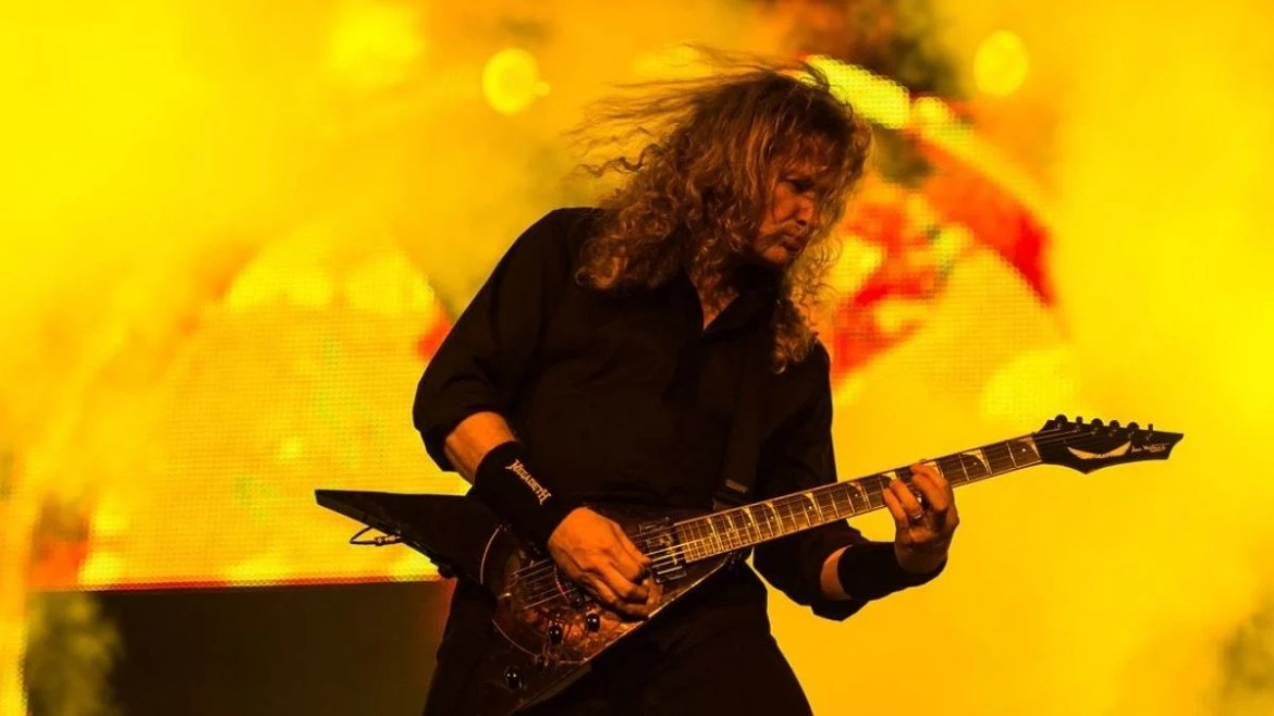 Dave Mustaine do Megadeth