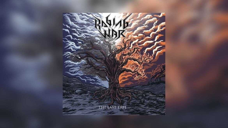 Capa do EP 'The Last Tree' do Raging War