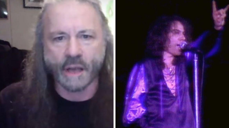 Bruce Dickinson e Ronnie James Dio