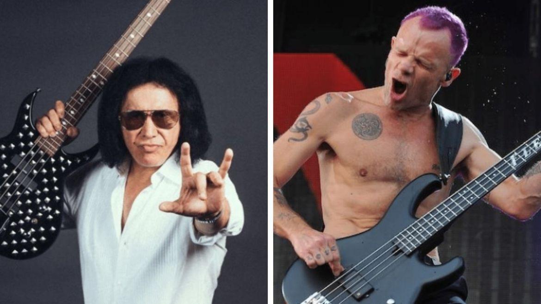 Gene Simmons e Flea