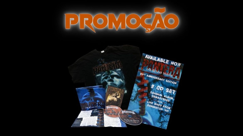 Promoção valendo um kit 'Far Beyond Driven', do Pantera