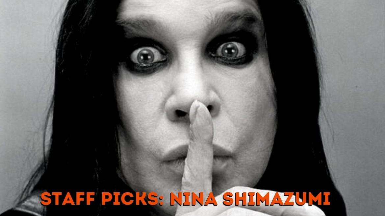 Ozzy Osbourne no Staff Picks da Nina