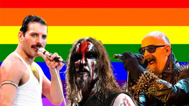 Freddie Mercury, Gaahl e Rob Halford