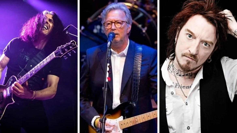 Alex Skolnick, Eric Clapton e Ginger Wildheart