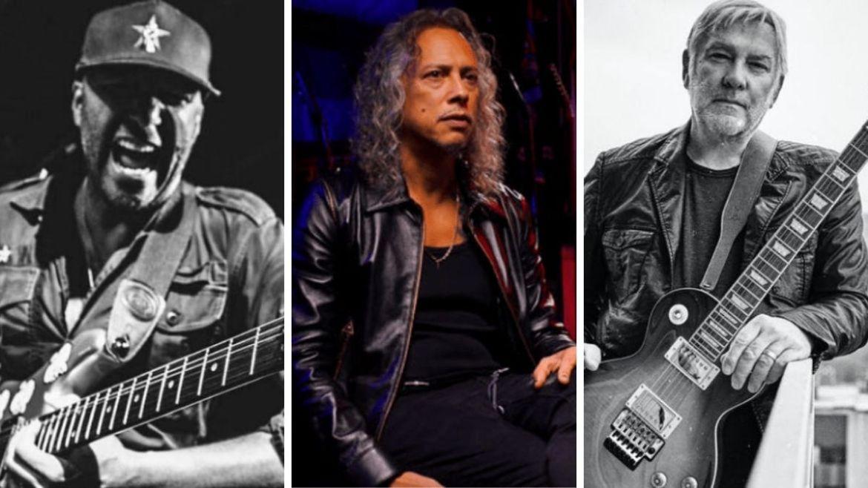 Tom Morello, Kirk Hammett e Alex Lifeson