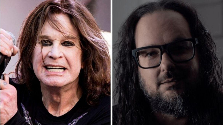 Ozzy Osbourne e Jonathan Davis (Korn)