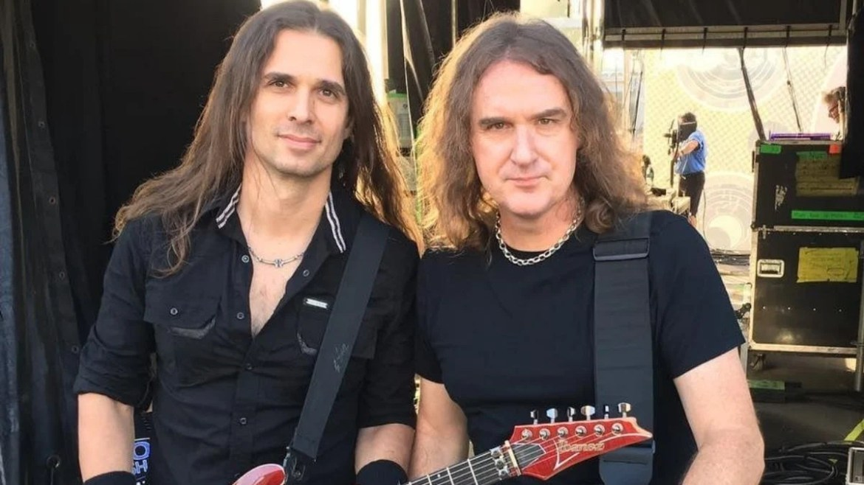 Kiko Loureiro e David Ellefson