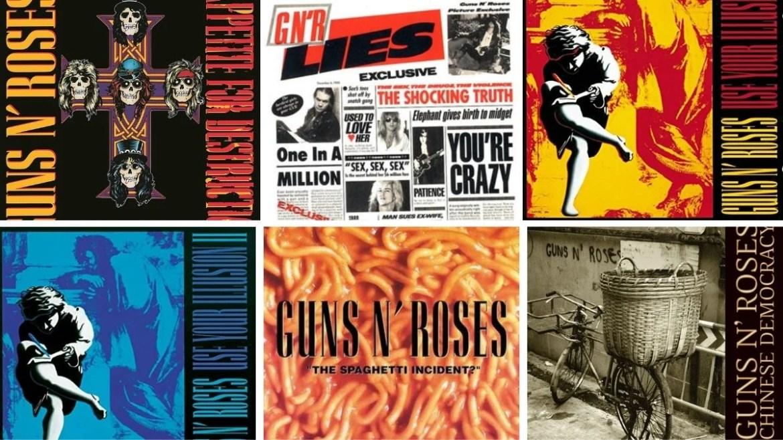 Qual é o melhor álbum do Guns N' Roses?