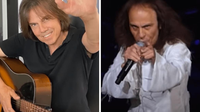 Joey Tempest, do Europe, e Ronnie James Dio