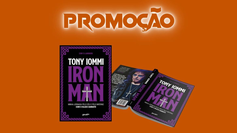 Promoção valendo a nova autobiografia de Tony Iommi