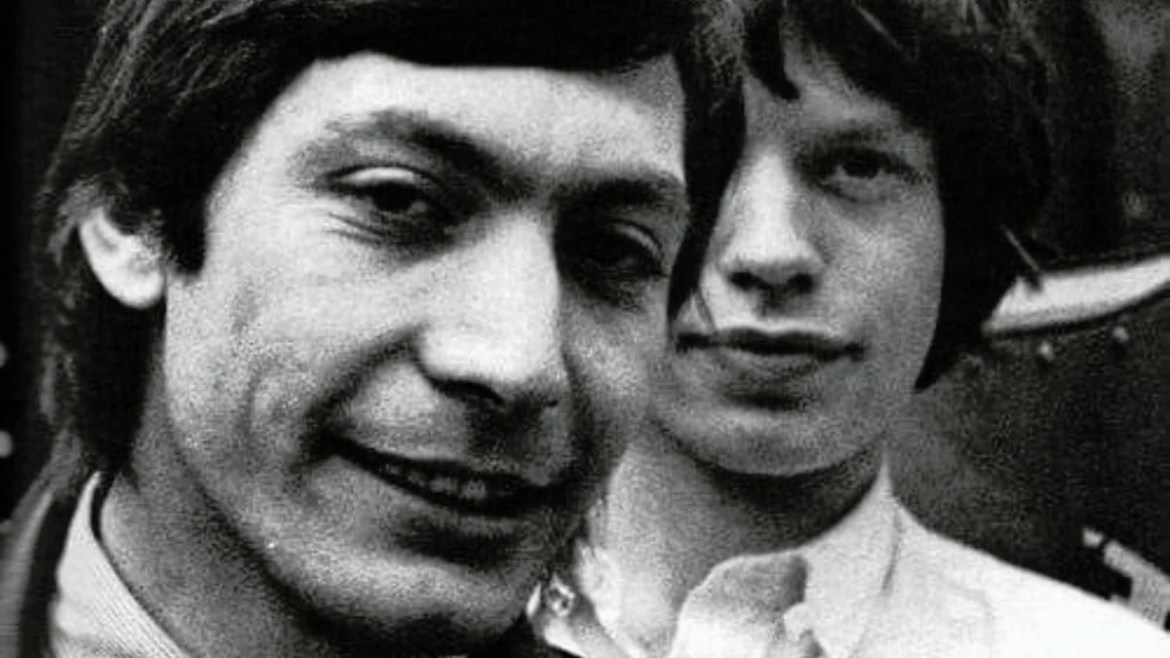 Charlie Watts e Mick Jagger, dos Rolling Stones