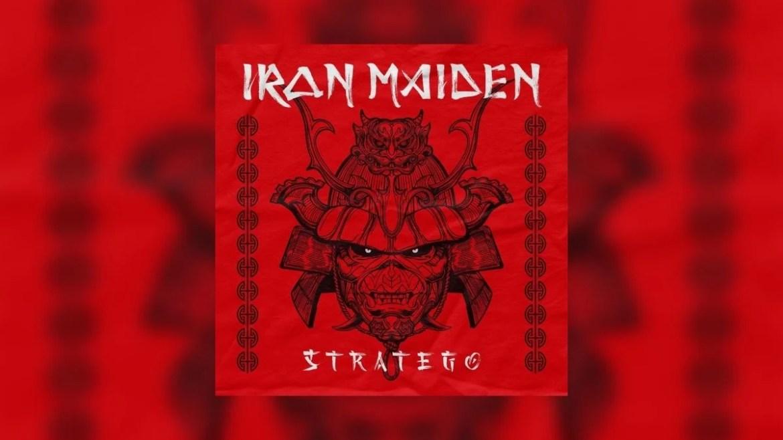 """Capa de """"Stratego"""", do Iron Maiden"""