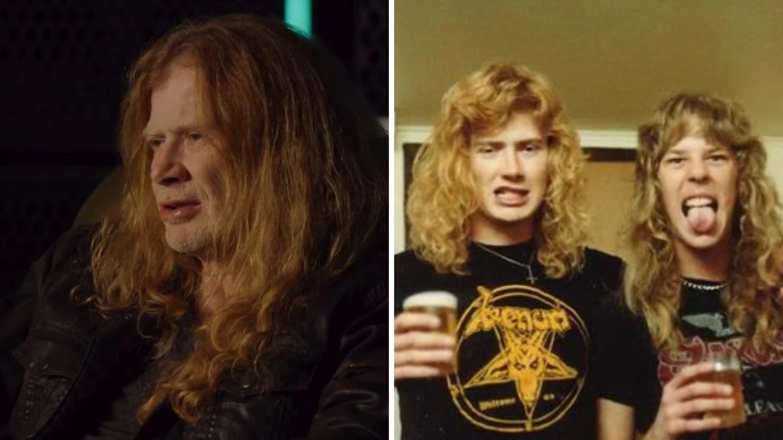 Dave Mustaine e James Hetfield