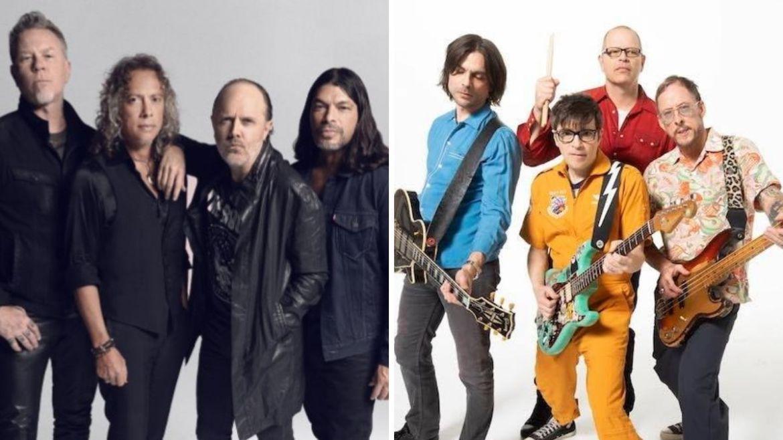 Metallica e Weezer
