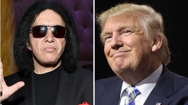 Gene Simmons e Donald Trump