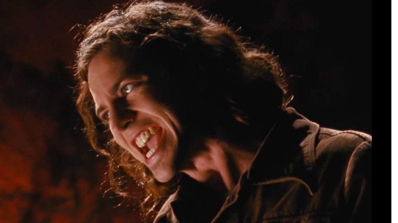 Eddie Vedder no clipe de Pearl Jam, do Pearl Jam