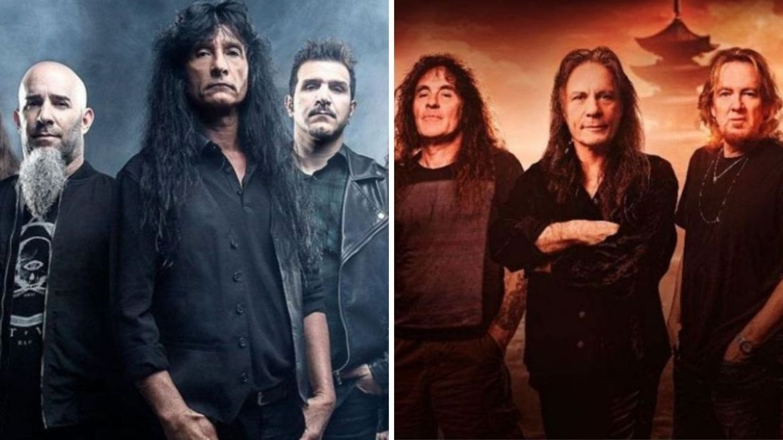 Anthrax e Iron Maiden