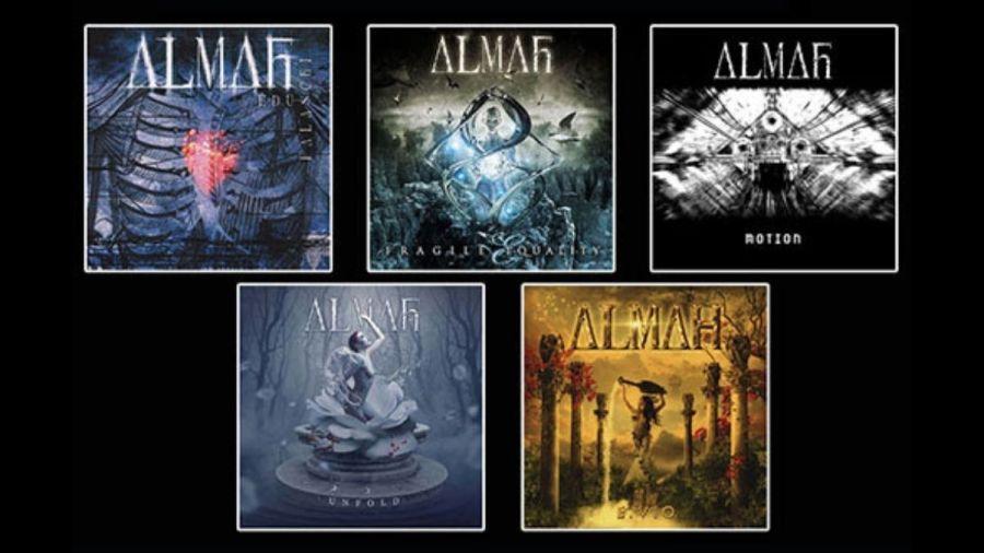 Discografia do Almah