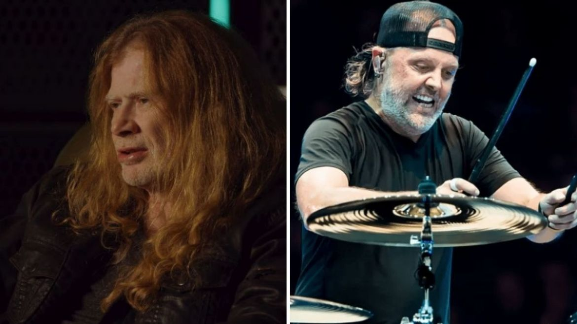 Dave Mustaine e Lars Ulrich