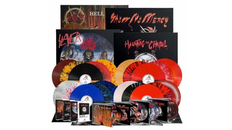 Relançamentos do Slayer pela Metal Blade Records