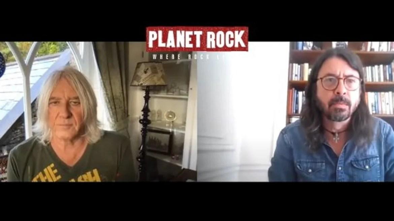Joe Elliott e Dave Grohl