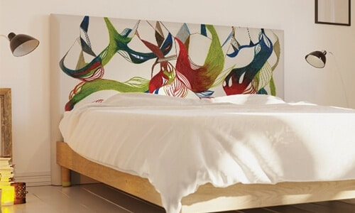 customiser une tete de lit pour la
