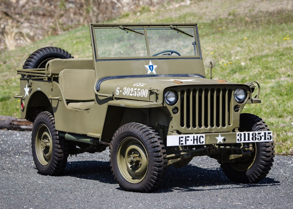 Willys Jeep Suspension Diagram