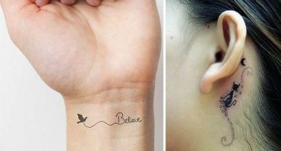 Tatuagens Femininas Na Costela Delicadas Borboletas