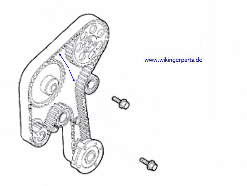 Volvo Timing Belt 8627484 › Wikingerparts