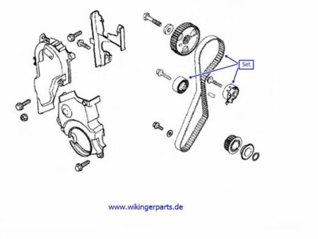 Volvo Timing Belt Kit 8653649 › Wikingerparts