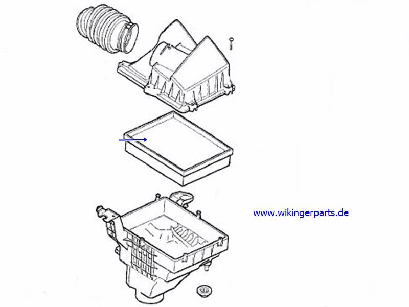 Volvo Air Filter 8683561 › Wikingerparts
