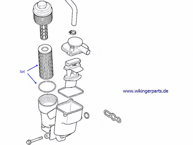 Volvo Oil Filter 8692305 › Wikingerparts