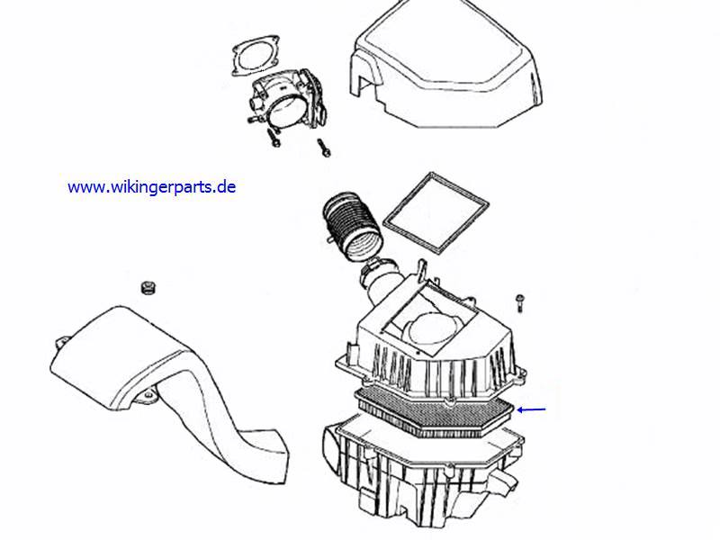 Volvo Air Filter 30636551 › Wikingerparts