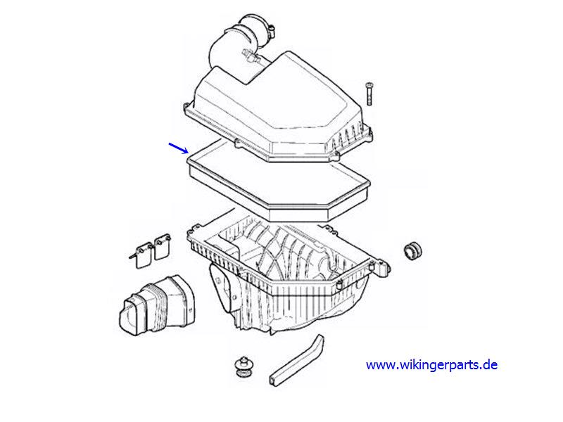 Volvo Air Filter 31370161 › Wikingerparts