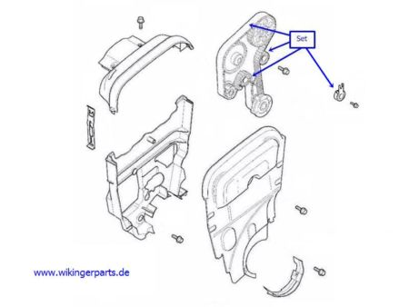 Volvo Timing Belt Kit 30758270 › Wikingerparts