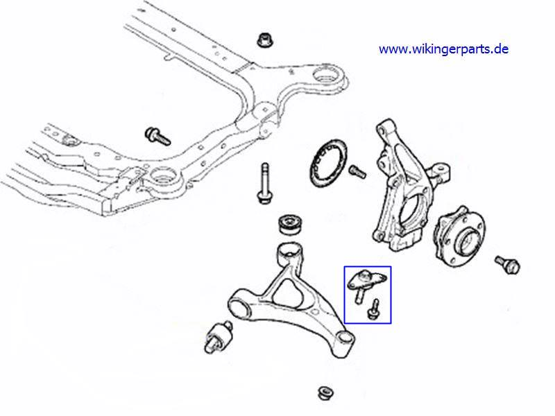 Volvo Ball Joint 31201485 › Wikingerparts