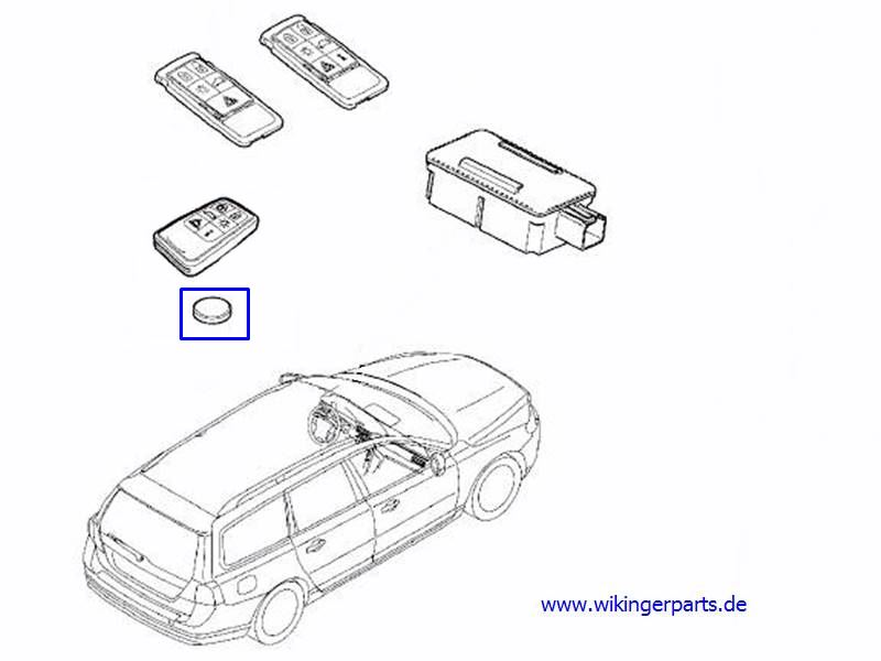 Volvo Battery 31252292 › Wikingerparts