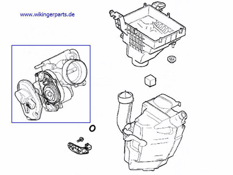 Volvo Throttle Body 31293045 › Wikingerparts