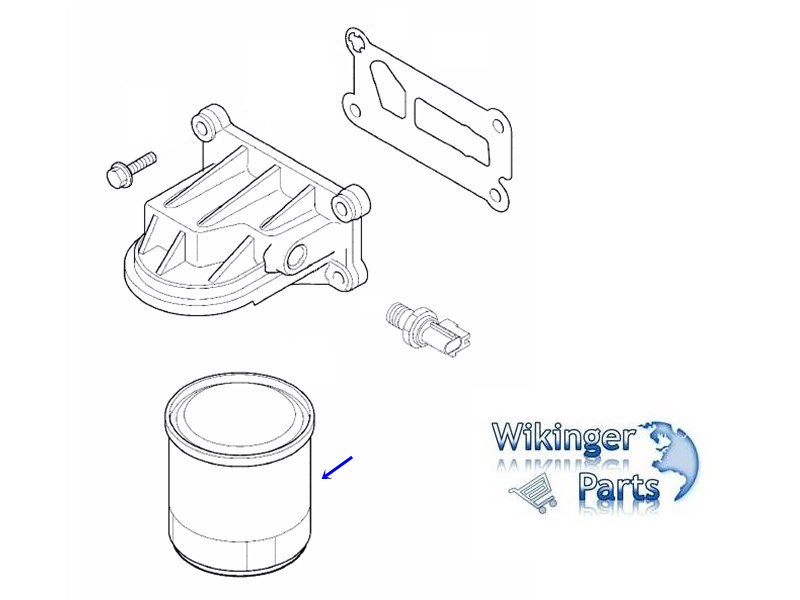Volvo Oil Filter 31330050 › Wikingerparts